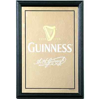 Guinness Harp & Signature - Small Mirror
