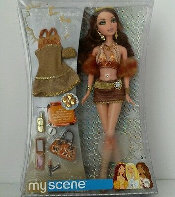 My Scene Bling Bling Chelsea Barbie Doll Extra Clothes & Accessories - HTF NIP