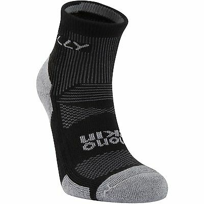 Hilly Cushion Anklet  running sports socks Black/Grey