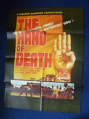 The Hand of Death 1976  JACKIE CHAN original movie poster