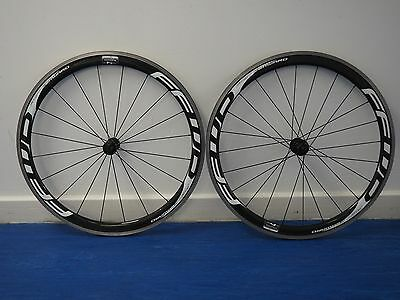 FFWD Fast Forward F4R Road Wheelset White (45mm) Clincher Shimano RRP £1300 WH5