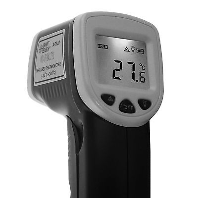 Infrared Digital Thermometer Handheld Laser Gun Non-Contact IR With LCD Screen