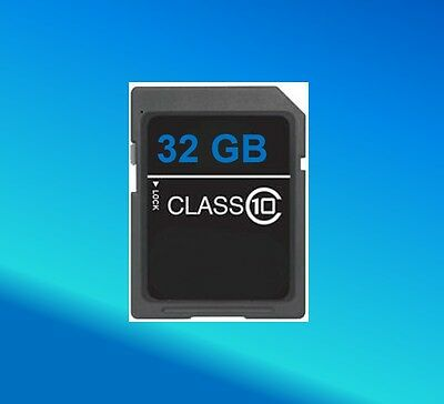 New 32G SD Memory Card for Playstation 3