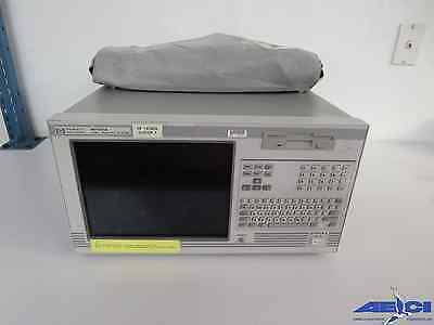 Hewlett-Packard 16702A Logic Analyzer Mainframe W/cables