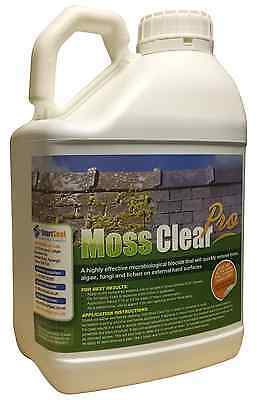 5L Industrial Strength Driveway Patio Moss Algae Lichen Killer Remover Cleaner