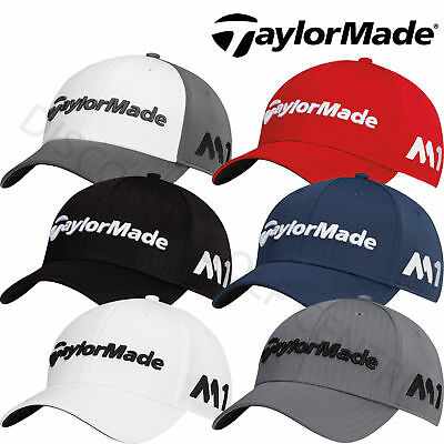 TaylorMade 2017 Mens Tour Radar M1 Performance Cap Golf Hat - Adjustable
