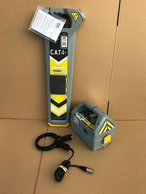 Radiodetection CAT 4+ Cable Locator & Genny 4 Avoidance Tool C.A.T Scanner