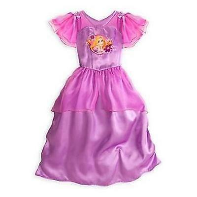 Disney Store Princess Rapunzel Tangled Purple Nightgown Small 5/6 New