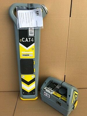 Radiodetection eCAT 4 Cable Locator & Genny 4 Avoidance Tool C.A.T Scanner