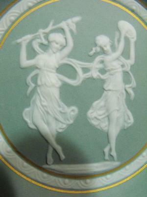 Limoges Small Plate Wedgwood Style Dancing Ladies Beautiful