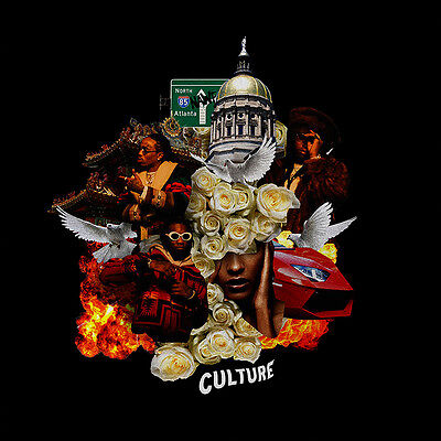 "Migos Culture New Poster Album Art 24""x24"" 18""x18"" Music Rap Hip Hop Silk 2017"