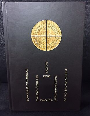 NEW!! Sigismund August 1545 -1571 coins catalogue Zygmund August Lithuania