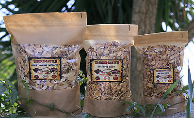 BBQ Smoking wood chips for BBQ or Food Smoker APPLE OAK HICKORY MAPLE CHERRY etc