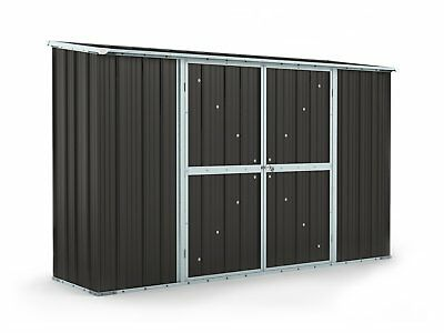 Garden Shed 3.07m x 0.79m x 1.92m Ironsand Storage Sheds Cheap Steel NEW