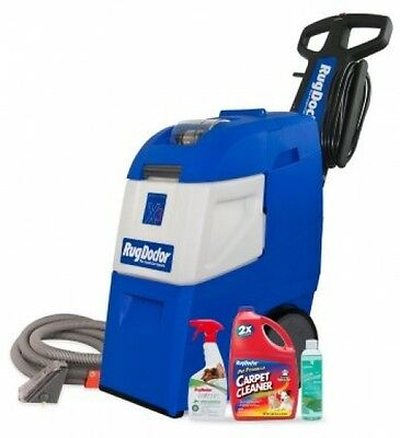 Rug Doctor Mighty Pro X3 Heavy-Duty Deep Carpet Cleaning Machine Package Set New