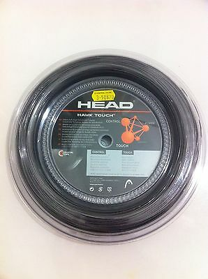 Head HAWK TOUCH Monofilament Tennis String (cut from reel) (1,25mm/17)Anthracite