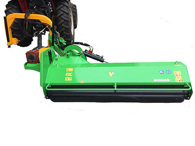 "Ditch Bank Mower / Flail Mower, BCRI-200 Heavy Duty 78"" Verge Mower from Victory"