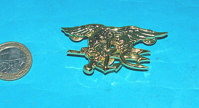 Us Navy Seals Full Size Chest Badge (A Well Earned Badge).
