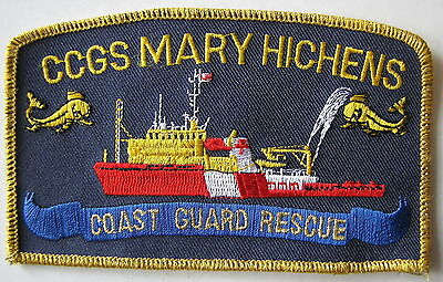 Ccgs Mary Hichens Coast Guard Rescue Patch
