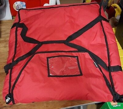 Pizza Delivery Bag San Jamar PB25 - 25 in x 26 in x 6 Large Used 4 Available