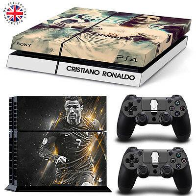 RONALDO PS4 Playstation Wrap Skin Sticker Decal Dust Cover FOOTBALL