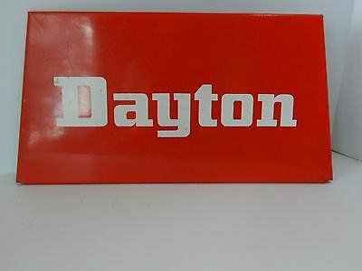Dayton Tire Sign, Metal Tire Sign, Advertising Collectible Sign, Small Vtg Sign