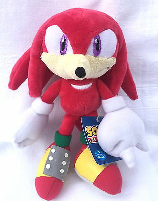 SEGA Sonic The Hedgehog First Release Sanei Knuckles Soft Plush Toy Doll Figure