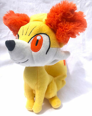 Nintendo Pokemon Fennekin Soft Plush Toy Doll Figure Card Game GO