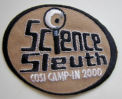 Science Sleuth Cosi Camp-In 2000 Ohio Patch