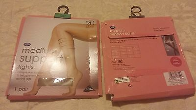 WHOLESALE JOBLOT -  Boots - 2  PAIRS - LADIES TIGHTS - Size  SMALL   BN