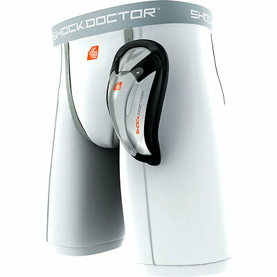 Shock Doctor Core Protective Gear BasiX Compression Short with Bio Flex Cup
