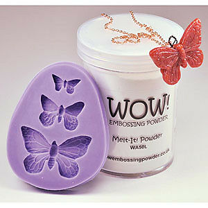 NEW Wow! Wow! Silicone Mould Butterfly Trio