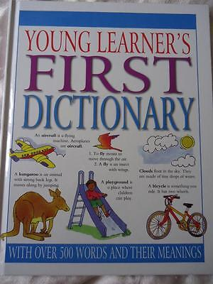 Young Learner's First Dictionary - A High Quality Hardback Book - New