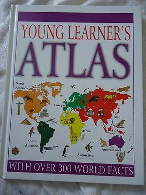 Young Learner's Atlas - A High Quality Hardback Book