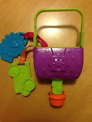 Evenflo Exersaucer Replacement Toy Sweet Tea Party Cupcake Activity Center Purse