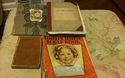 Scrapbooks (4) San Diego,Shirley Temple,Early Theatre,Field book 360