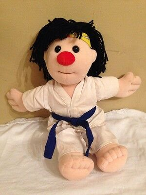 """The Big Comfy Couch Molly Doll 17"""" Karate Plush"""
