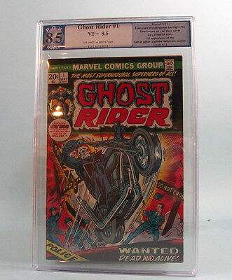 Ghost Rider #1 PGX 8.5 VF+ (not CGC) 1st App of Son of Satan