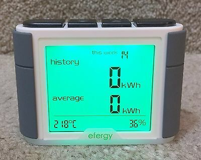 Efergy Elite 3.0 Energy Power KWh Consumption Monitor Only