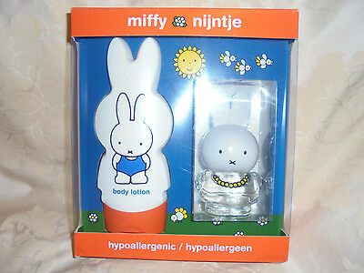 Girls Miffy Nijntje Perfume Spray & Body Lotion New In Box