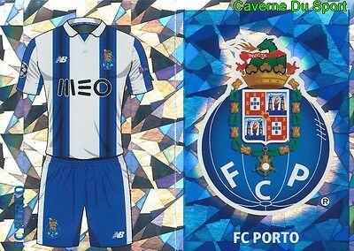 Qfj1-2 Club Logo - Home Kit Fc.porto Sticker Champions League 2017 Topps