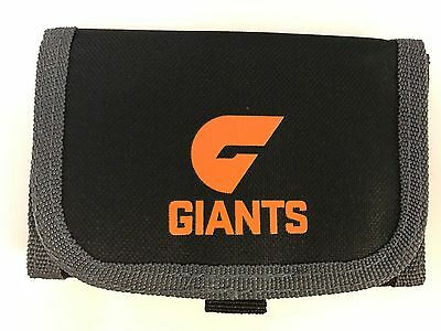 65763 Greater Western Sydney Gws Giants Afl Nylon Kids Team Wallet Coin Section