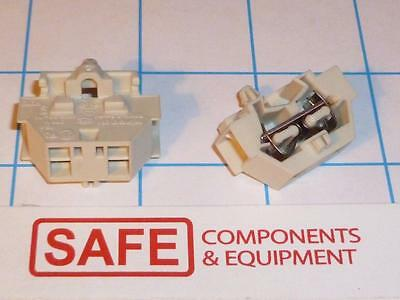 WAGO 261-341 4-Conductor Terminal Block DIN 35 Rail Snap-in Mount QTY-2 C32