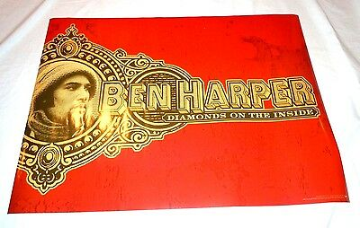 BEN HARPER~Diamonds On The Inside~Original Promo Poster~18x24~NM~2003