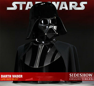 Star Wars Darth Vader Full Size Bust Sideshow Collectibles VERY RARE