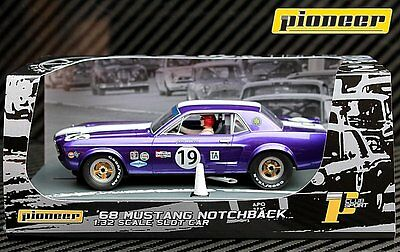 Pioneer Slot Cat P048 1968 Ford Mustang Notchback