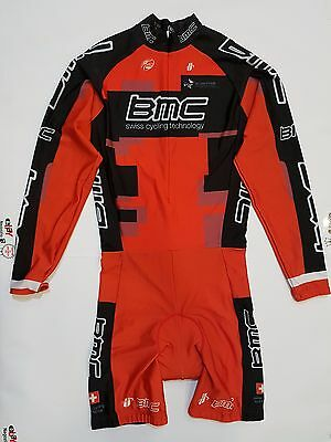 Completo Salopette Ciclismo Bmc Swiss Cycling Technology Tg.m Cycles Team 154