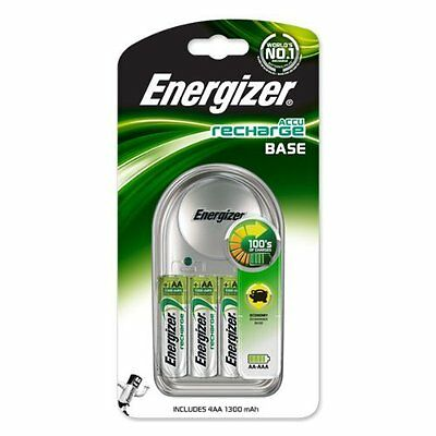 Energizer AA Base / AAA Chargeur Batterie plus 4x 1300mAh NiMH 638579