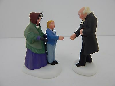 Dept 56 New England Village Good Day, Reverend #56697 Overall Good Condition