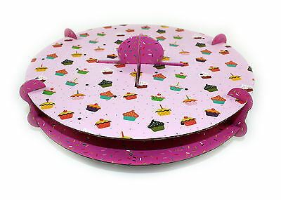 NEW 32 Hole Pink Cake Pop Display Stand COOLING RACK Decorating Party Tableware
